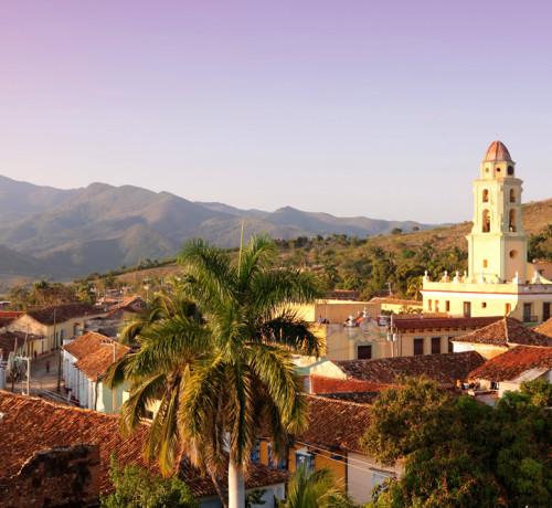 Trinidad view. Cuba