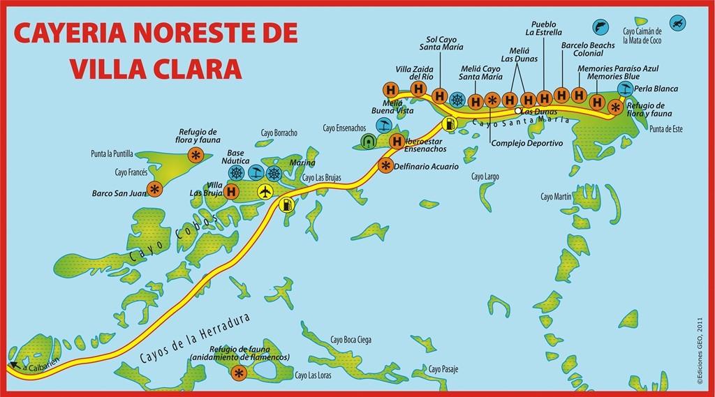 Cayo Santa Maria Cuba Cayos De Villa Clara Cuba
