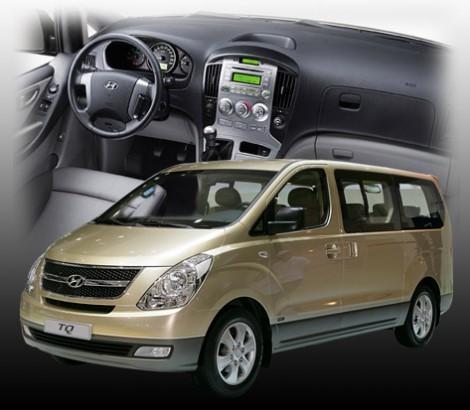 Cuba Car Rentals Minivan Hyundai H1 TQ